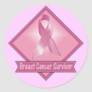 Stickers - Breast Cancer Survivor