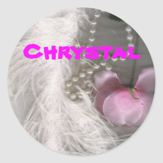 stickers, Chrystal