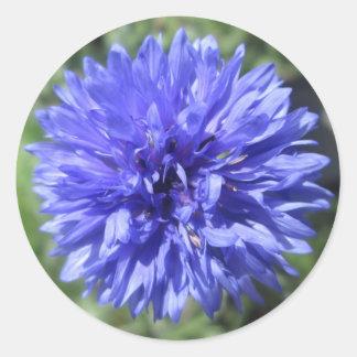 Stickers - Cornflower Blue Bachelor's Button