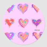 Stickers - Crazy Hearts 2