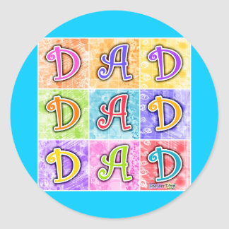 Stickers - DAD Pop Art