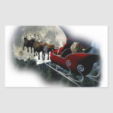 Stickers Father Christmas at Zazzle