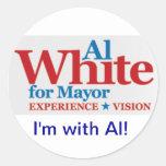 Stickers for Al White