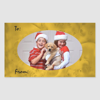 Stickers for Christmas Gift Tags-New Puppy