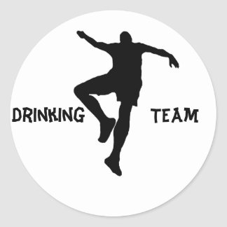 Stickers for drinking team