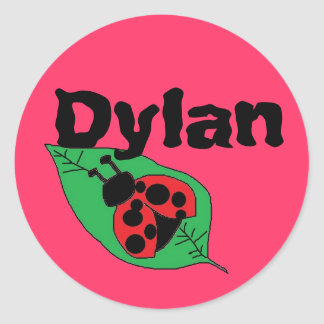 stickers for name Dylan