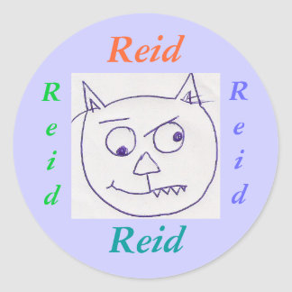 stickers for name: Reid