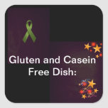 Stickers for Potlucks( Alerts for food allergies)