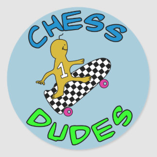 Stickers for your little Chess Skate loving Dude