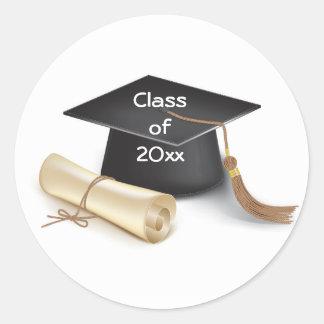 Stickers/Grauduation Class of 20xx Classic Round Sticker