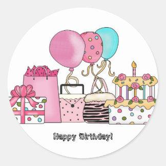 stickers ...happy birthday