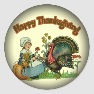 Stickers - Happy Thanksgiving
