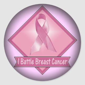 Stickers - I Battle Breast Cancer