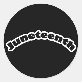 Stickers: Juneteenth