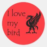 Stickers - Liverpool Liverbird