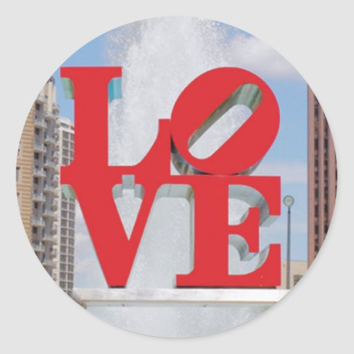 STICKERS - Love Park