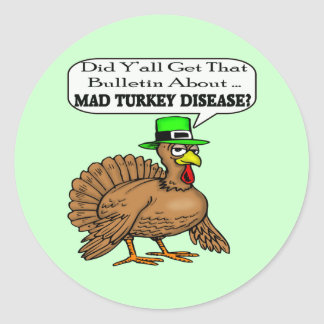 Stickers - Mad Turkey Disease