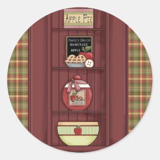 stickers mama's kitchen apple pie