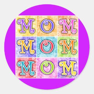 Stickers - MOM Pop Art