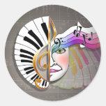 Stickers - Music Mask