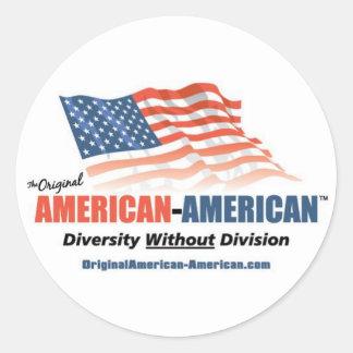 Stickers- Original American-American Classic Round Sticker