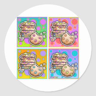 Stickers - Pop Art Cookies