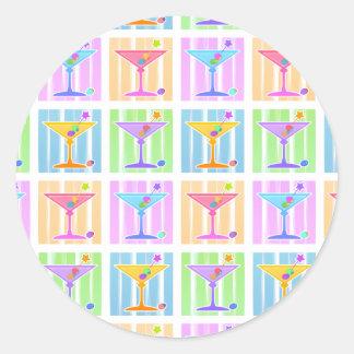 Stickers - Pop Art Martinis 2010