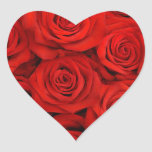 Stickers-Red Roses Heart Sticker