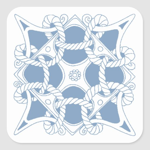 Stickers Rope Twist Mariners Sailors Celtic Knot