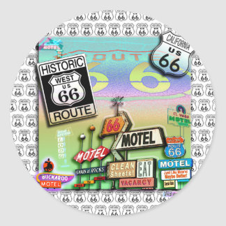 Stickers - Route 66 The Mother Road
