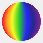 Stickers - Spherical Rainbow