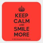 keep calm and smile more design on t shirt poster mug and many