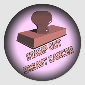 Stickers - Stamp Out Breast Cancer