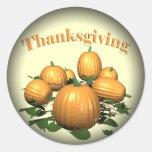 Stickers - Thanksgiving Pumpkin Patch