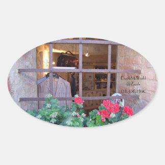 Stickers - Window Shopping in Monteriggioni