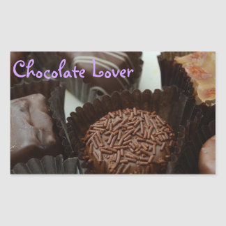 Stickers with Chocolate Design