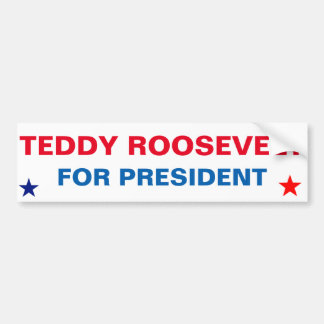 StickeTeddy presidencial Roosevelt para el Pegatina Para Auto
