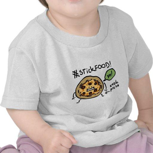 #StickFOOD - Stick Pizza Tee Shirt