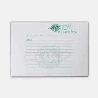 ¡Stickies entre oficinas de la nota de las Post-it® Nota