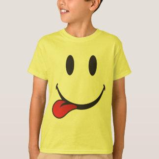 Sticking out tongue emoji T-Shirt