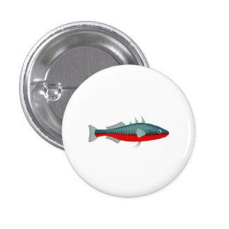 Stickleback Fish Pinback Button