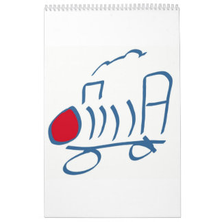 Stickman calender calendar