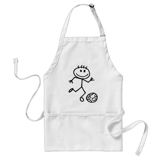 Stickman Football Adult Apron