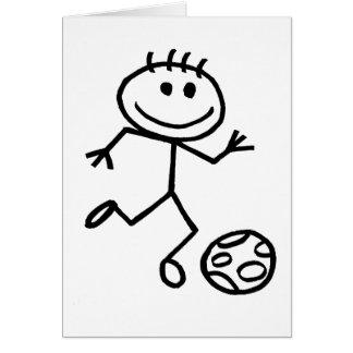 Stickman Football Card