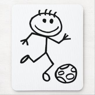 Stickman Football Mouse Pad