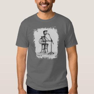 Stickman - Guitar Mens T Shirt