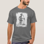 Stickman - Guitar Mens T T-Shirt