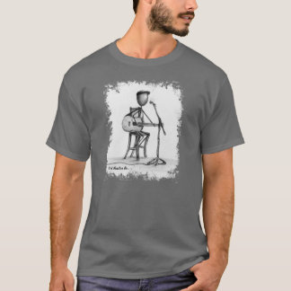 Stickman - Guitar Mens T T-Shirt