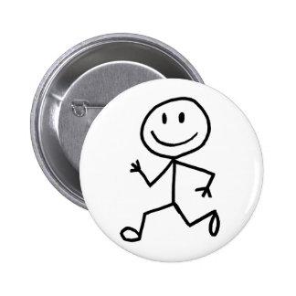 Stickman Runner Buttons