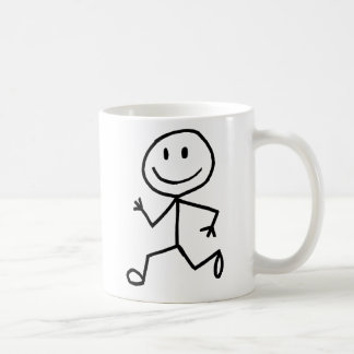 Stickman Runner Coffee Mug